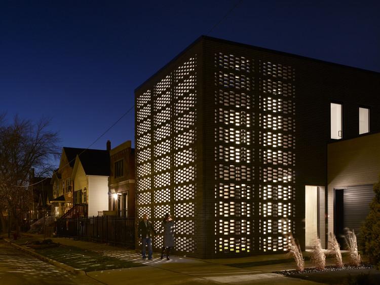 Casa brick-weave / Studio Gang, © Hedrich Blessing