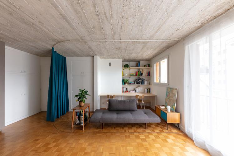 Reforma do Apartamento Alphonse / Match, bureau d'architecture, © Antoine Bonnafous
