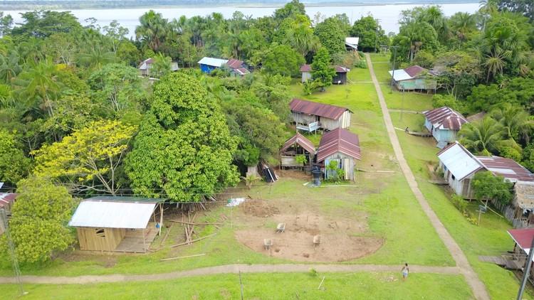 Arquitectura en el Amazonas de Colombia: una Maloca para la comunidad de los Ticunas, Cortesía de Estación Espacial Arquitectos