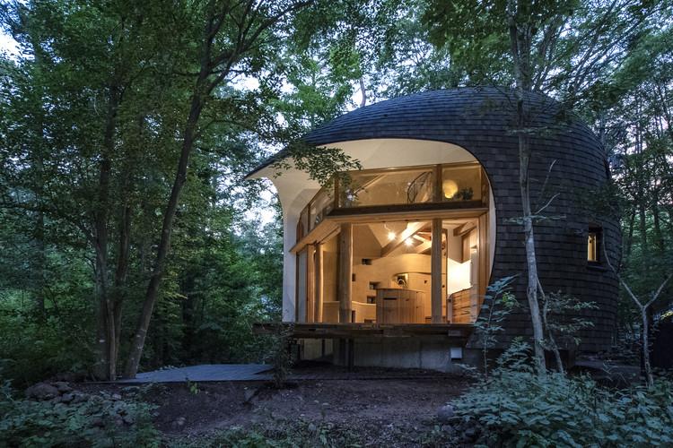 Shell House / Tono Mirai Architects, © takeshi noguchi