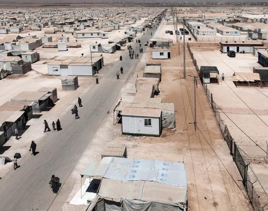 Zaatari Refugee Camp. Image © Panayis Chrysovergis