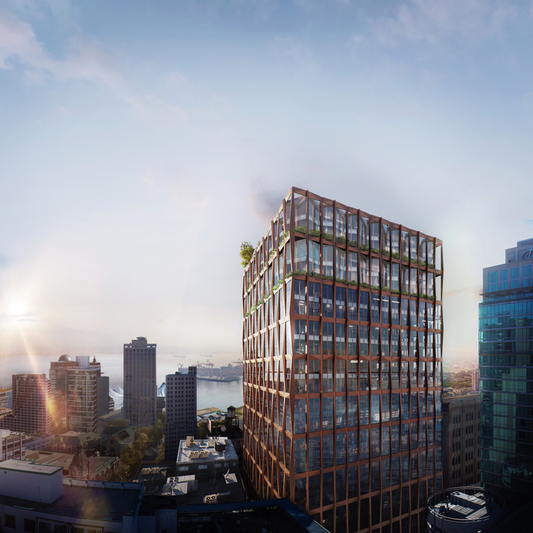 KPF Receives City Council Approval for 601 West Pender Street in Vancouver, Canada, © LemonsBucket for KPF