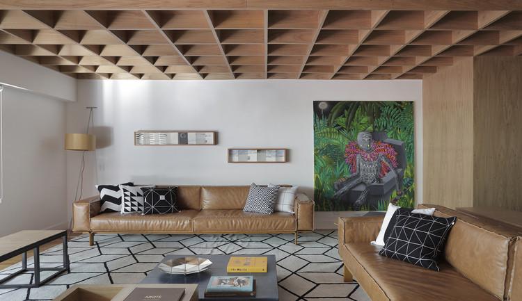 Apartamento MICF / PKB Arquitetura, © Denilson Machado – MCA Estúdio