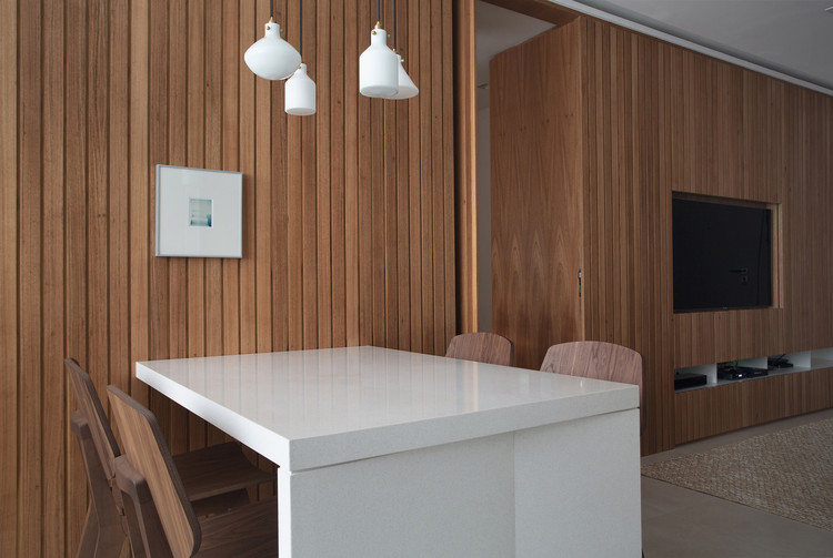Apartamento GA / PKB Arquitetura, © Denilson Machado - MCA Estudio