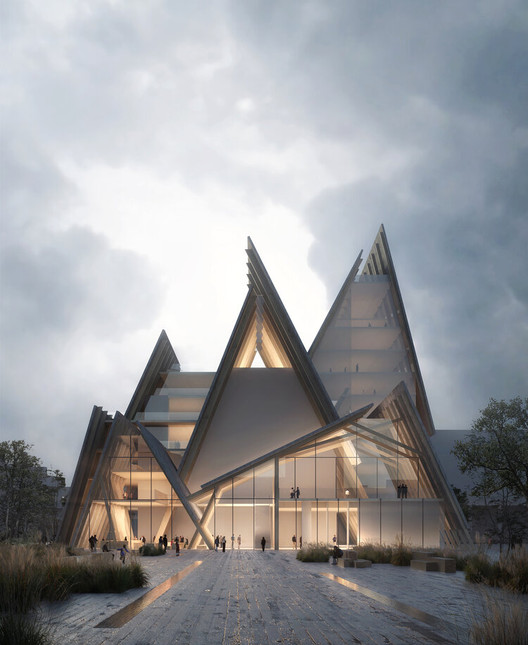 """The Era of Powerful Buildings and Weak Entourage is Over"": Interview with Luxigon's Eric de Broche des Combes, Kengo Kuma & Associates - Smyrna Church, Gothenburg, Sweden. Image ? Luxigon"