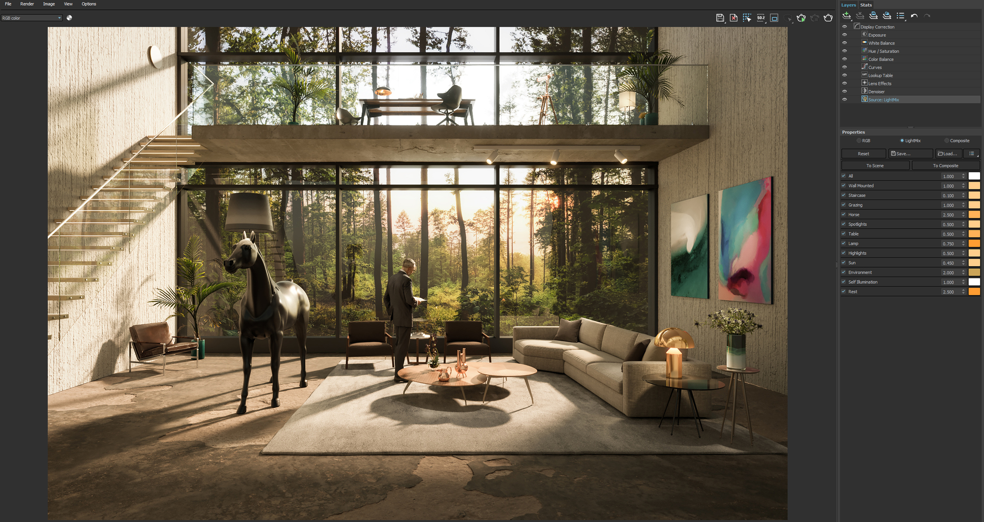 How Light Mix In V Ray 5 Helps Designers Visualize Architecture Archdaily