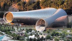 Rhike Park, Music Theatre and Exhibition Hall / Studio Fuksas