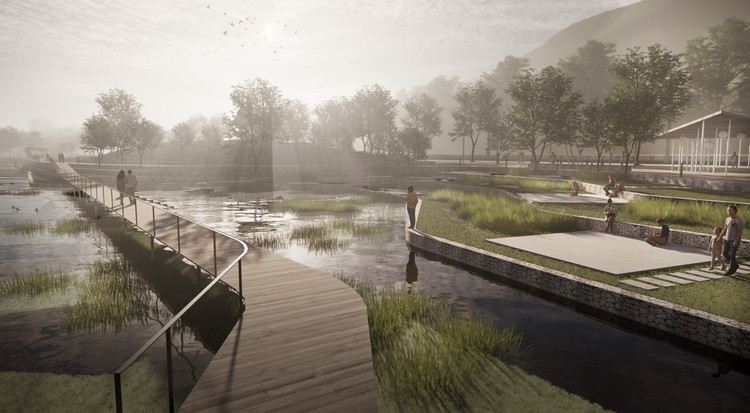 White Arkitekter to Design One Kilometre Long Extension for a Park in Norway, Courtesy of White Arkitekter