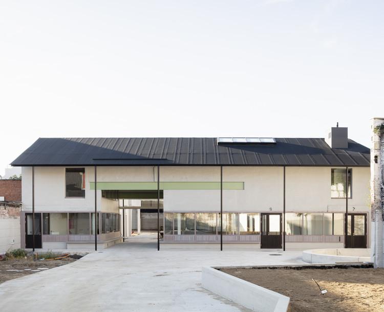Standaertsite Park / murmuur architecten + Carton123 architecten + AE-architecten, © Michiel De Cleene