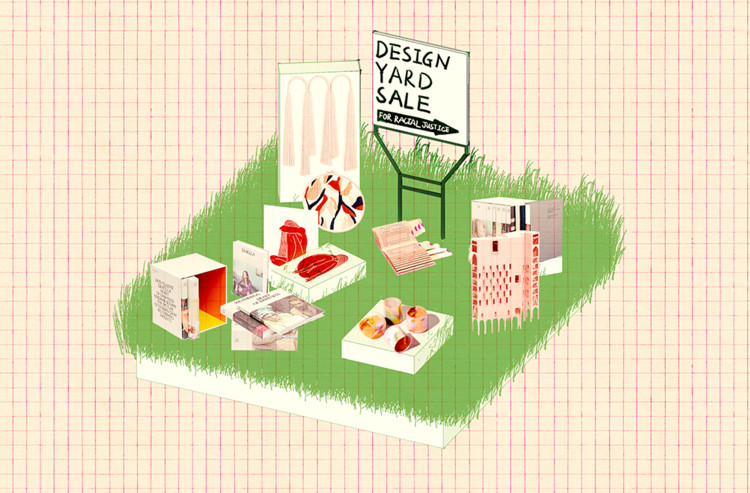 Harvard GSD Students and Alumni Launch Design Yard Sale for Racial Justice, Courtesy of Design Yard Sale