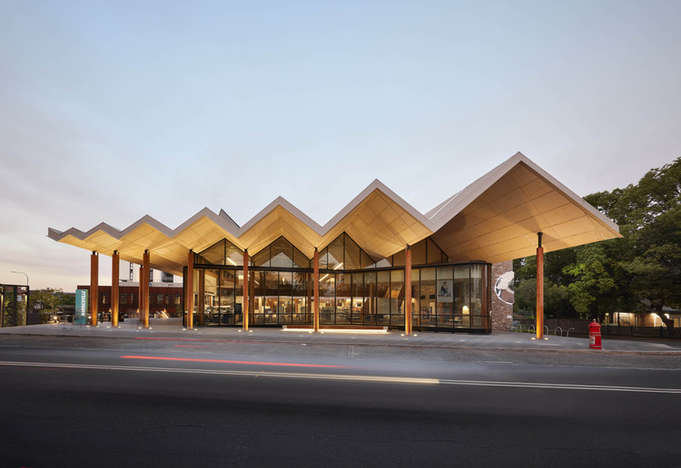Australian Institute of Architects Announces 2020 NSW Architecture Awards, Marrickville Library. Image © Tom Roe
