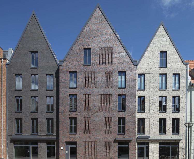 Three Gable House Steinstrasse 20 / Tchoban Voss Architekten, © Daniel Sumesgutner