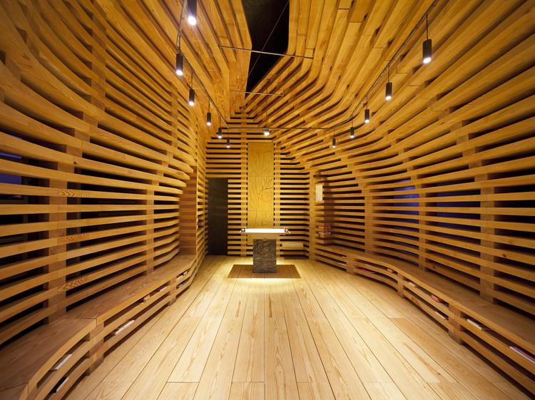 Capela Árvore da Vida  / Cerejeira Fontes Architects, © Nelson Garrido