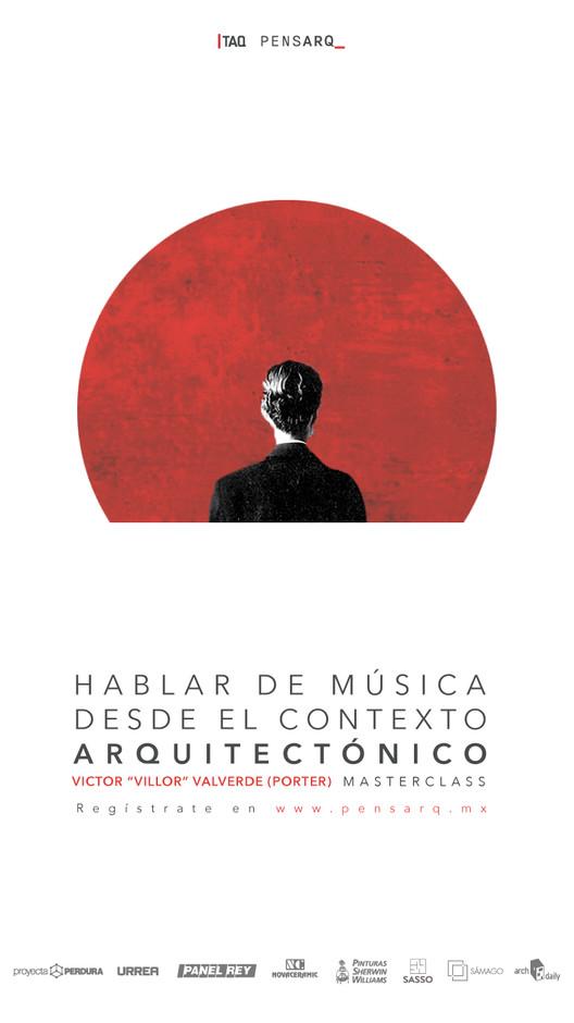 Masterclass - Hablar de música desde el contexto arquitectónico