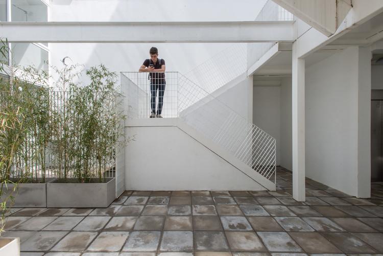 Edifício Holmberg 3470 / Oscar Fuentes Arquitectos, © Luis Barandiarán