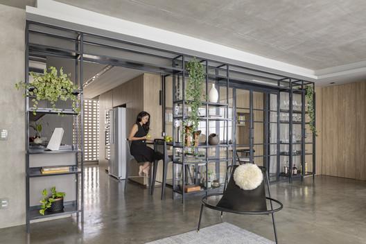 Apartamento Merlot / Clarice Semerene Arquitetura