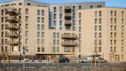 Îlot Montjoie Mixed Used Complex / Vincent Lavergne Architecture Urbanisme + Atelier Novembre