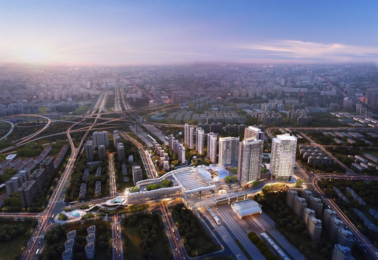 Ronald Lu & Partners Completes Phase One of China's First Transit-Oriented Development, Courtesy of Ronald Lu & Partners (RLP)