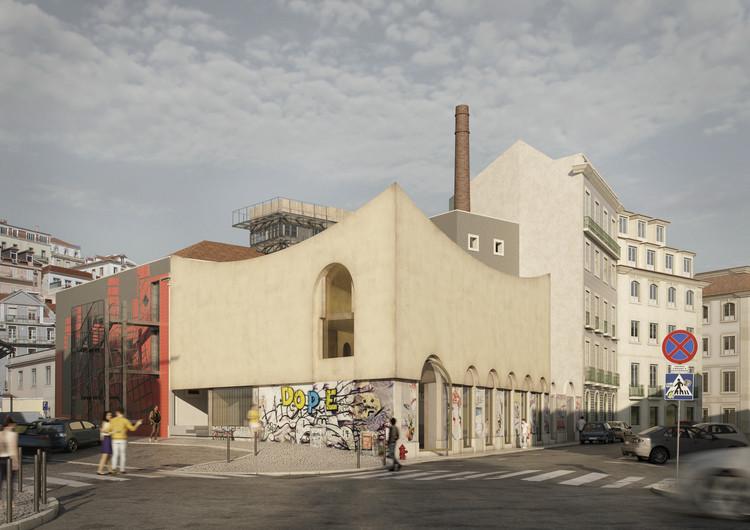 Luís Pedro Pinto vence concurso para a expansão da sede da Ordem dos Arquitectos em Lisboa, Image © LAMB3D