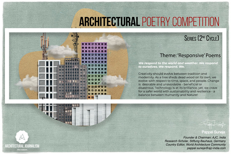 Open Call: Architectural Poetry Competition Series, 2nd Cycle