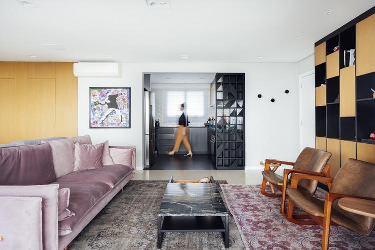 Apartamento Panorama / 0E1 Arquitetos, © Cristiano Bauce