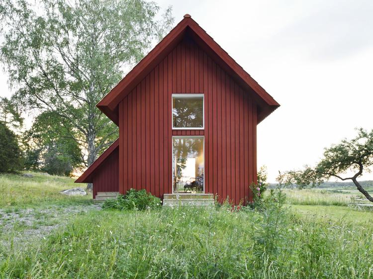 Bollbacken Cottage / Söderberg Söderberg, © Mikael Olsson