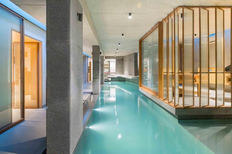 Saar Pool & Spa for a Private Residence / Vastu Shilpa Consultants, © Vinay Panjwani