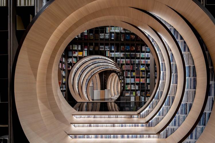 Zhongsuge Bookstore in Beijing Lafayette / X+Living, © Qingshan Wu