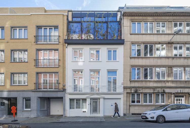 Espacio de trabajo y vivienda A. / dmvA, © Sergio Pirrone