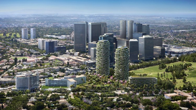 Foster + Partners divulga novas imagens do One Beverly Hills , Cortesia de DBOX for Alagem Capital