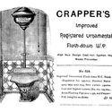 Anuncio de baño de Thomas Crapper, 1880s. Image © Thomas Crapper, co [Wikimedia] bajo dominio público