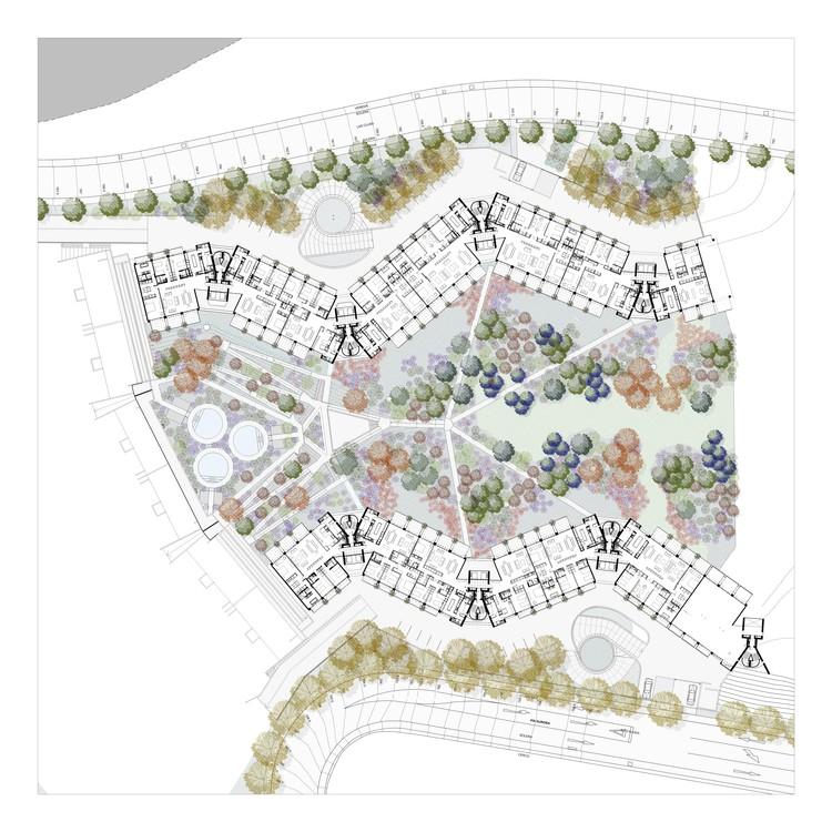 Park fifth floor plan