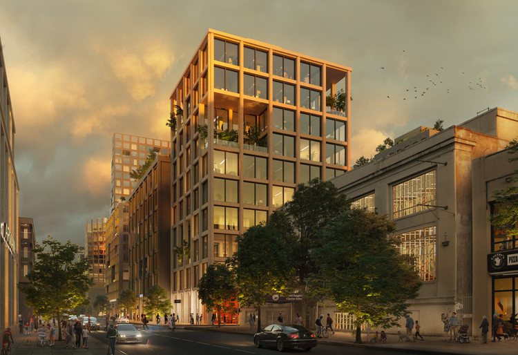 ODA Designs Mixed-Use District to Revitalize the Astoria Neighborhood, in New York City, © VERO Digital, courtesy of ODA