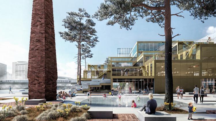 Belfast Waterside Development by Henning Larsen Receives Planning Approval, Courtesy of Henning Larsen