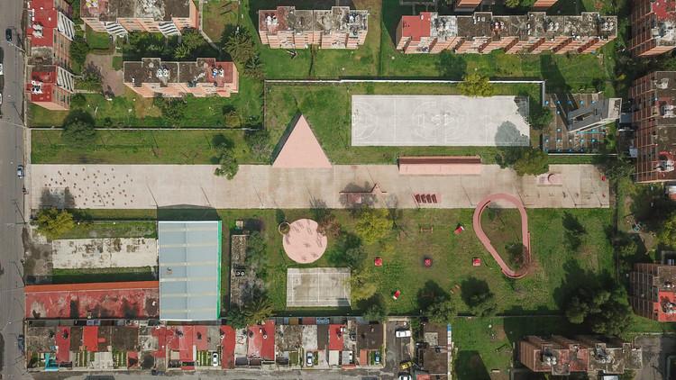 Parque público en Tultitlán / PRODUCTORA, © Erick Mendez