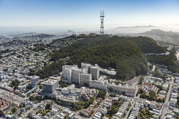 Herzog & De Meuron y HDR diseñarán un nuevo hospital en el Centro Médico UCSF Helen Diller en San Francisco, Parnassus . Image Courtesy of HDR