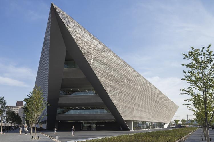 Otemon Gakuin University Academic-Ark / Mitsubishi Jisho Sekkei, © Shinkenchiku-sha