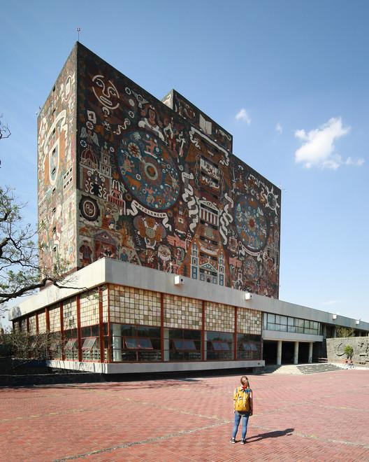 Clásicos de Arquitectura: Biblioteca Central, Ciudad Universitaria / Juan O´Gorman, © Maria González