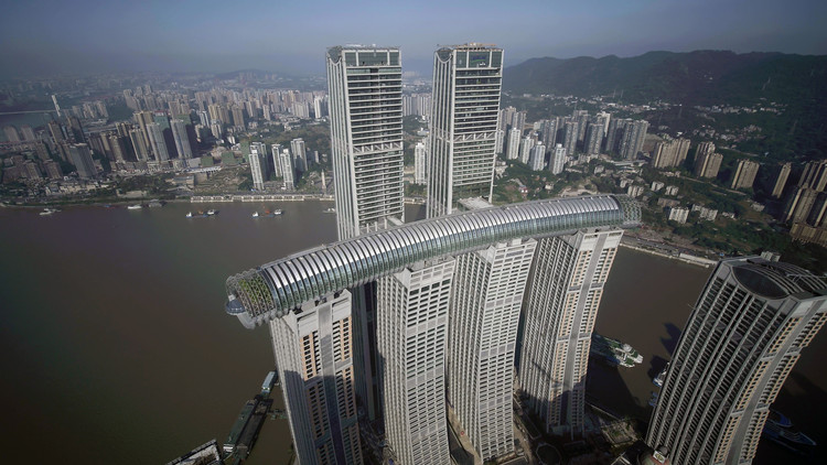 Raffles City Chongqing / Safdie Architects, Courtesy of CapitaLand