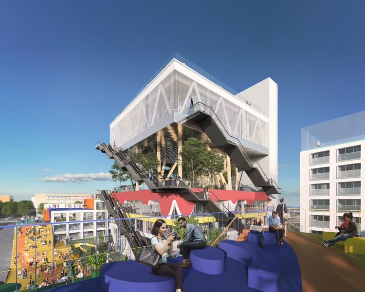 MVRDV transformará o pavilhão holandês da Expo 2000 em um complexo de co-working, © Antonio Luca Coco, Pavlos Ventouris, MVRDV