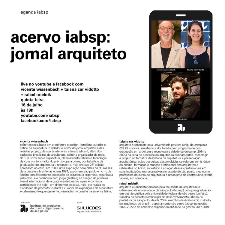 Acervo IABsp: Jornal Arquiteto