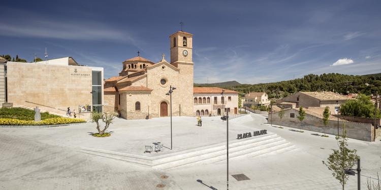 Remodelación de la Plaza Mayor de Ódena / SCOB Arquitectura y paisaje, © Adrià Goula