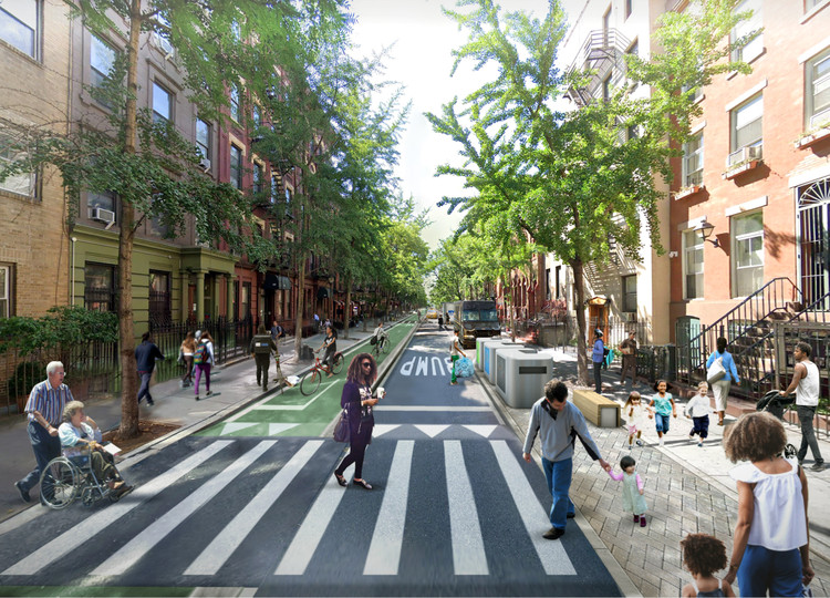 PAU Reimagines New York City Without Cars, © Practice for Architecture and Urbanism