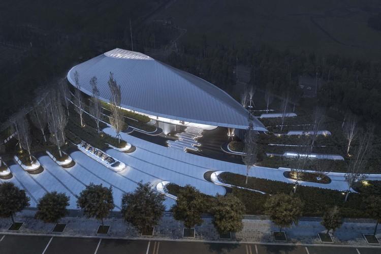 Tianjing Zarsion Exhibition Center / Ruf Architects, © Yijie Hu
