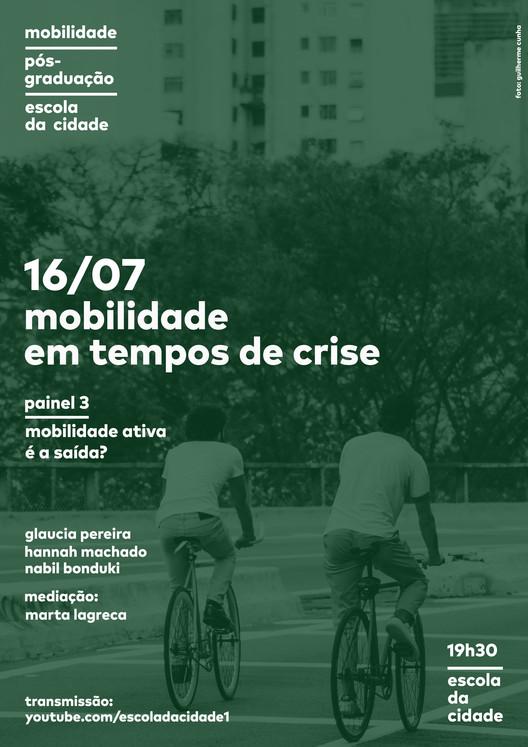 Ciclo de debates online - Mobilidade em tempos de crise, foto: Guilherme Cunha