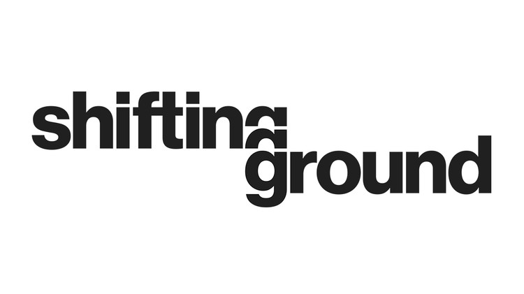 The Architectural League of New York's Call for Submissions: Shifting Ground, Shifting Ground logo. Credit: The Architectural League of New York