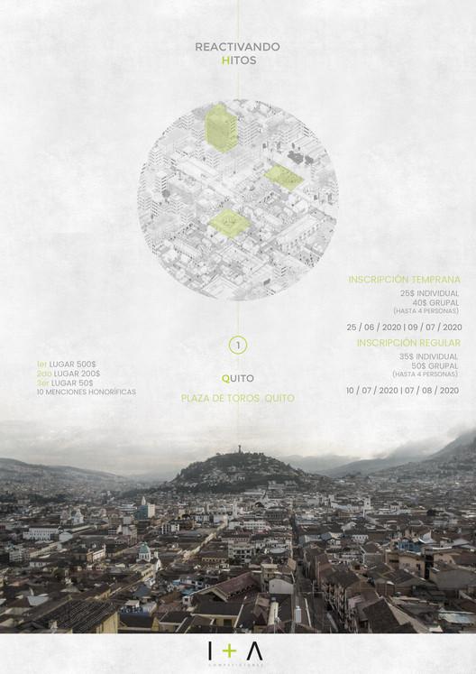 Concurso Reactivando Hitos 1: Plaza de Toros Quito, EQUIPO I+A