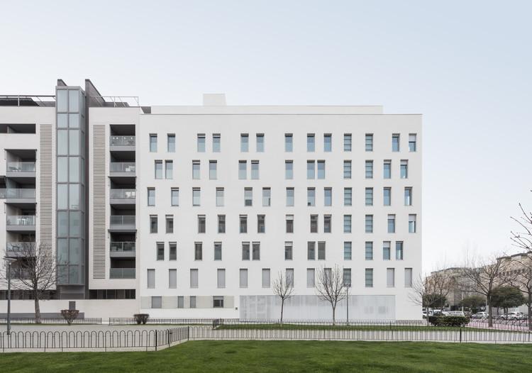 Edificio Madrid 0,0  / Ruiz Larrea y Asociados, © Lucía Gorostegui