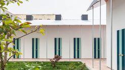 Seis casas em um Jardim / fala