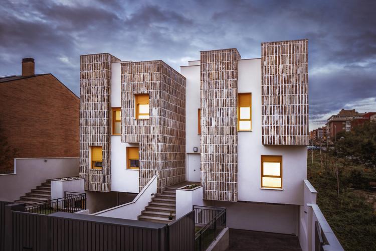 Casas en Montecarmelo / OOIIO Arquitectura, © Josefotoinmo